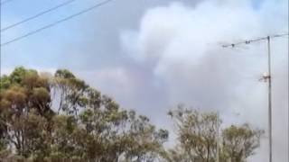 Bushfires in Victoria at Morwell and Hernes Oak 9/2/14