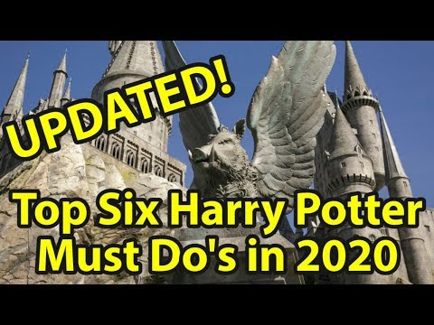 Updated! Top 6 Must Do Harry Potter Things At Universal Studios Orlando In 2020
