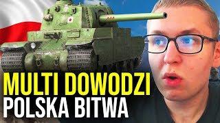MULTI DOWODZI - Polska bitwa - World of Tanks