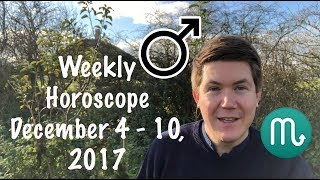 Weekly Horoscope for December 4 - 10, 2017 | Gregory Scott Astrology