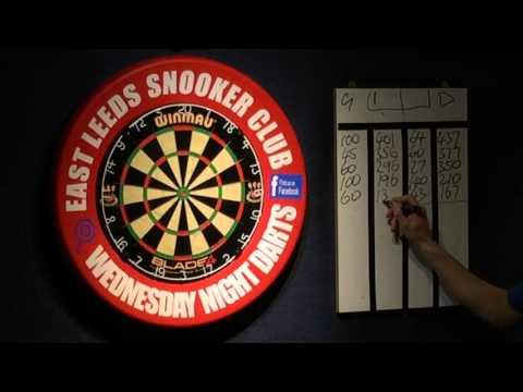 East Leeds Darts - Dean Hatton vs Greg Beard 7/10/15