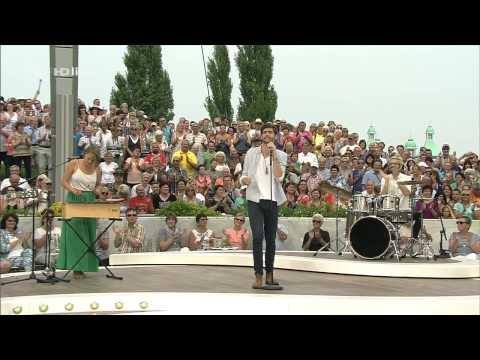 09.08.2015 Fernsehgarten - Alvaro Soler