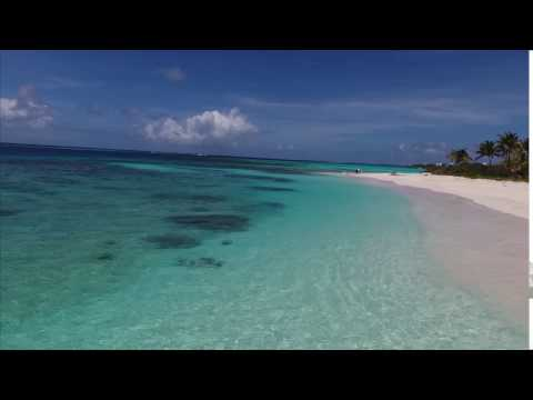 Anguilla Drone Fly of The Point at Shoal Bay East