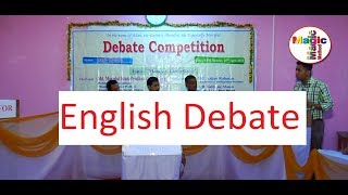 "English Debate on ""Money Is Everything."""