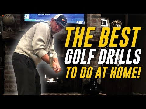 The BEST Golf Drills To Do At Home 🏌️♂️