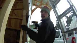 Hangar Style Bi-fold Garage Door (diy)