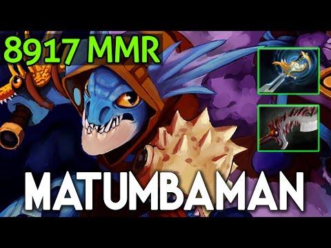 Matumbaman Dota 2 - Slark nearly 9k MMR Echo Sabre + Abyssal Blade