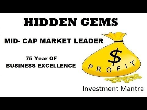 HIDDEN GEMS || MID-CAP MARKET LEADER COMPANY || 75 YEAR  of BUSINESS EXCELLENCE