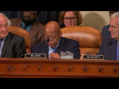 Rep. John Lewis Opposes Republican Tax Bill