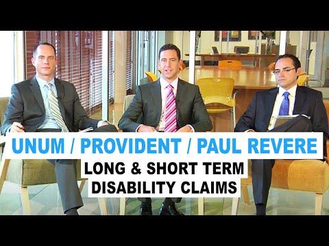 Unum / Provident / Paul Revere Long & Short Term Disability Claims (Ep. 13)