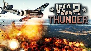 War Thunder - Английские Самолеты. Изучаем! #5