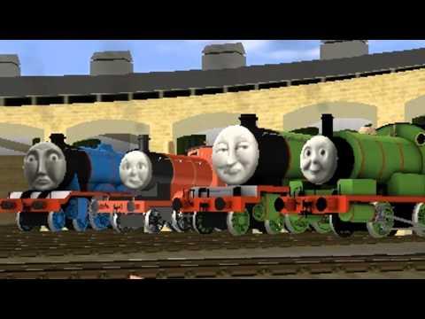 Thomas and Friends - Break My Stride Trainz Music Video