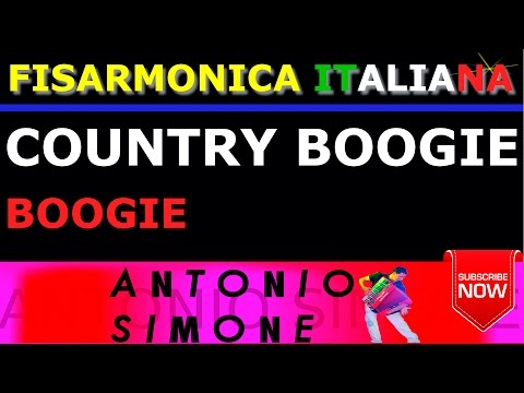 COUNTRY BOOGIE - BOOGIE - FISARMONICA ITALIANA BASI MUSICALI E PARTITURE - BALLO LISCIO