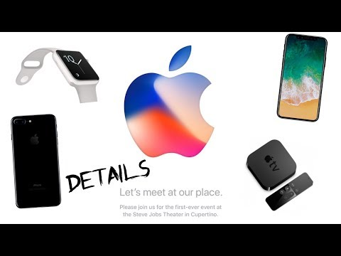 Apple iPhone X Event - What To Expect