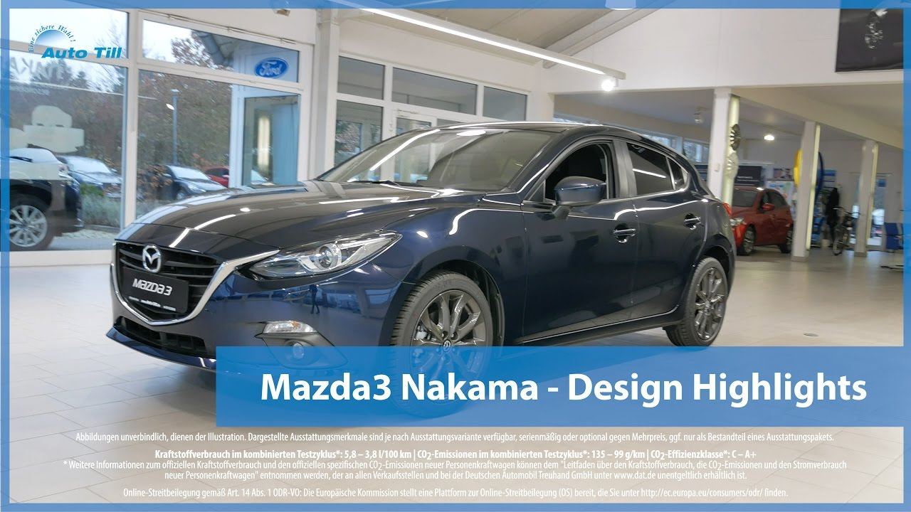 mazda3 nakama design highlights 4k uhd youtube. Black Bedroom Furniture Sets. Home Design Ideas