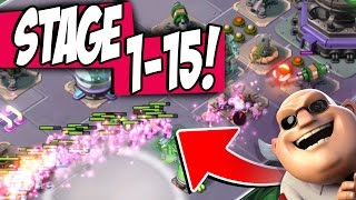 Boom Beach SPEED SERUM WARRIOR RUSHES OP!! Mega Crab Stages 1-15