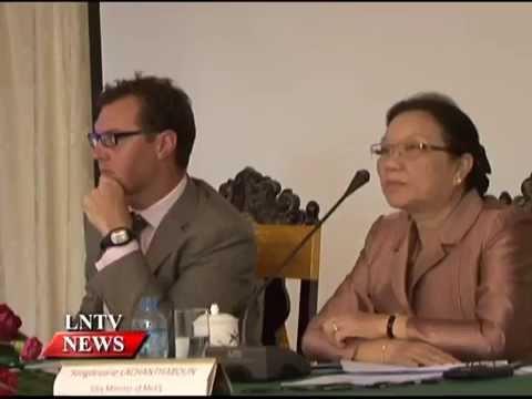 Lao NEWS on LNTV: Senior education officials & development partner discuss issues.3/9/2014