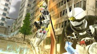 Kamen Rider Battride War Genesis - Gaim & Eternal Gameplay