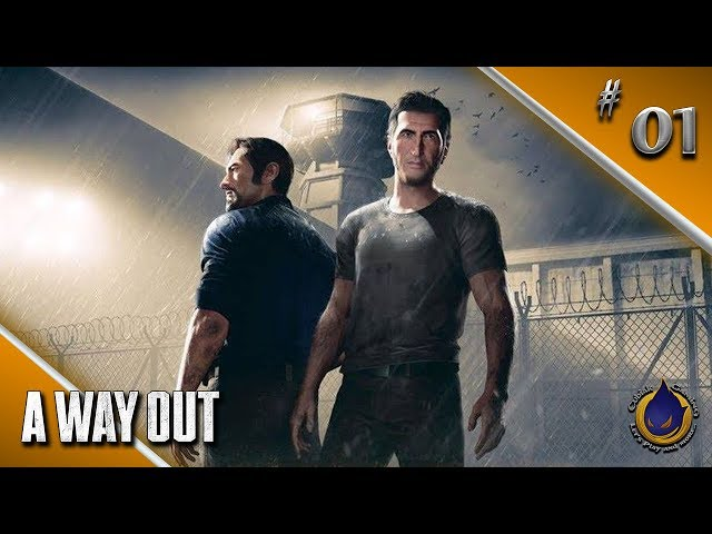 THE WAY IN 🔫 Let's Play A WAY OUT #01