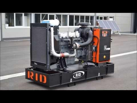 Дизельные генераторы из Германии - 250 кВА (изготовлены компанией RID)