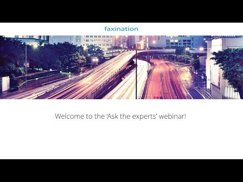Ask the experts: Faxination migration webinar