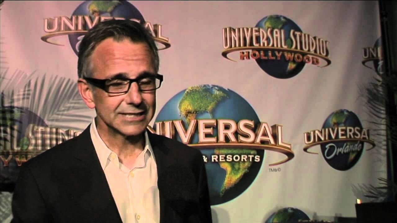 Mark Woodbury, President of Universal Creative for Universal Parks ...