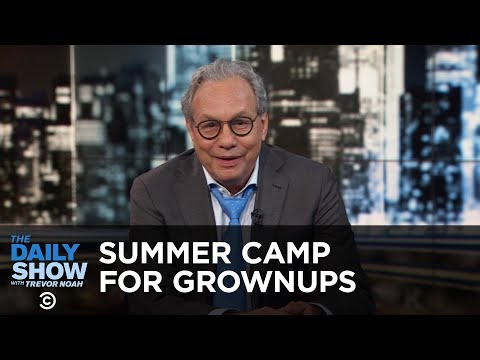 Back in Black – Summer Camp for Grownups | The Daily Show