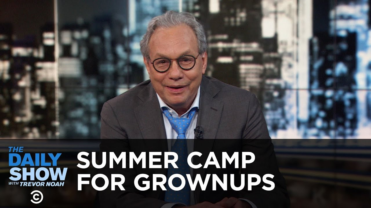Back in Black - Summer Camp for Grownups | The Daily Show