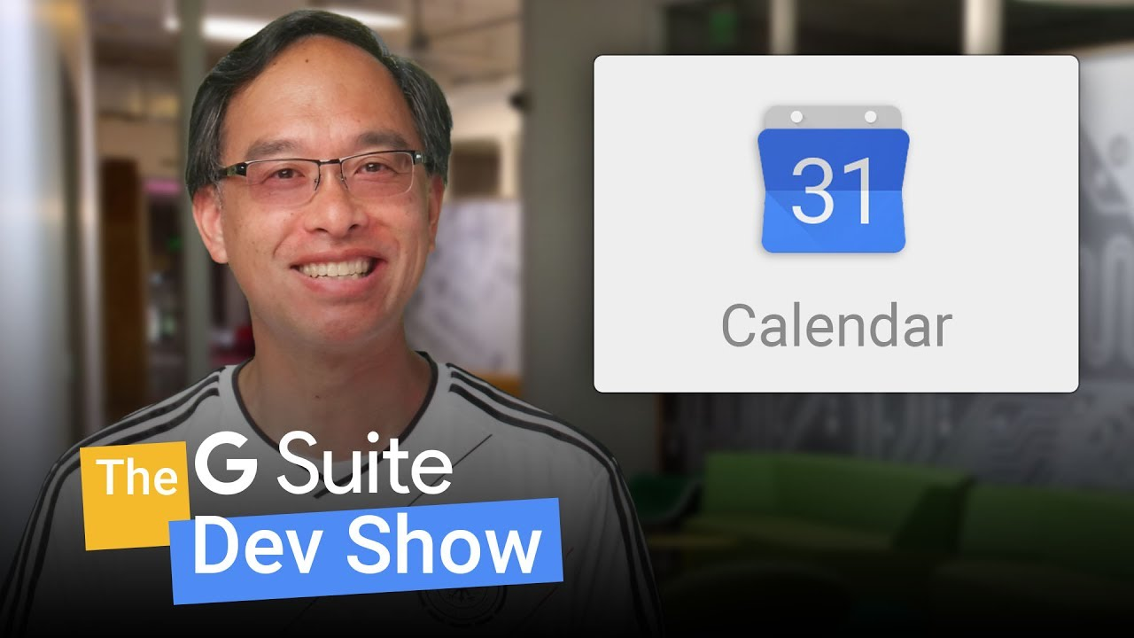 Modifying events with the Google Calendar API (The G Suite Dev Show)