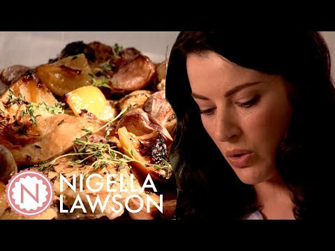 Nigella's Slowed Roasted Garlic & Lemon Chicken | Forever Summer With Nigella