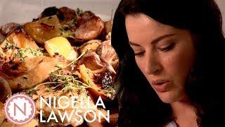 Nigella's Slowed Roasted Garlic & Lemon Chicken | Forever Summer With Nigella