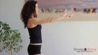 видео упражнения для осанки