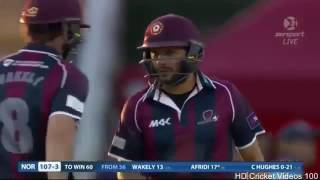 vuclip Shahid Afridi Openning The Innings In County Cricket 2016