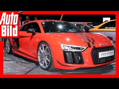 MTM R8 Supercharged (Genf 2017) - Der aufgeladene Audi / MTM Audi R8