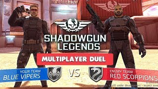 SHADOWGUN LEGENDS - DUEL PvP MULTIPLAYER GAMEPLAY - ( iOS / ANDROID )