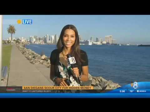 CBS8 San Diego (Scavenger Hunt)