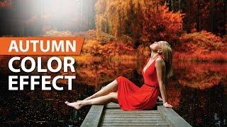 Autumn Effect in Photoshop