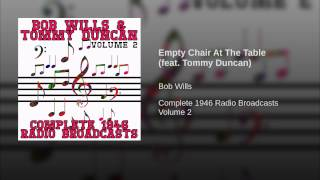 Empty Chair At The Table (feat. Tommy Duncan)