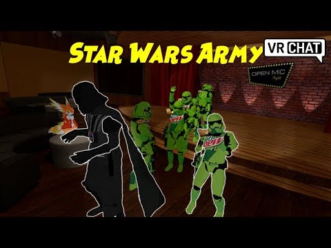 Star Wars Army - VRChat Adventures (Funny Moments)