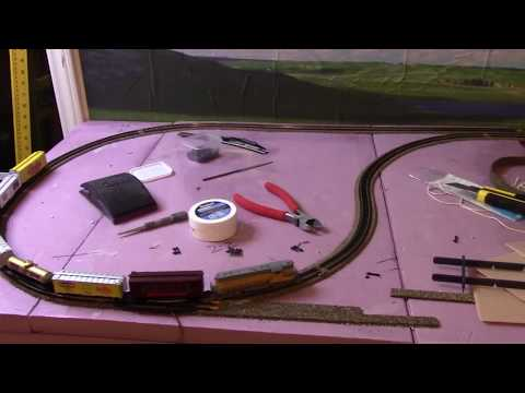 Building An N Scale Layout 12- Completing The Main Line