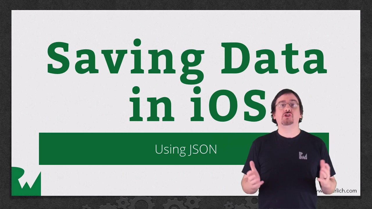 Reading and Writing JSON - Saving Data in iOS - raywenderlich com