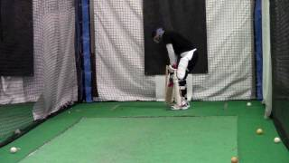 Cricket Batting Practice Part 1: Backfoot offside @Cricket Strike Zone
