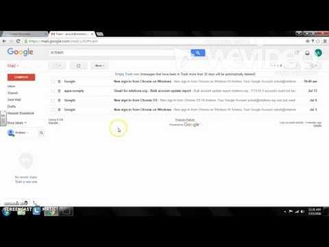 Google Mail Tutorial