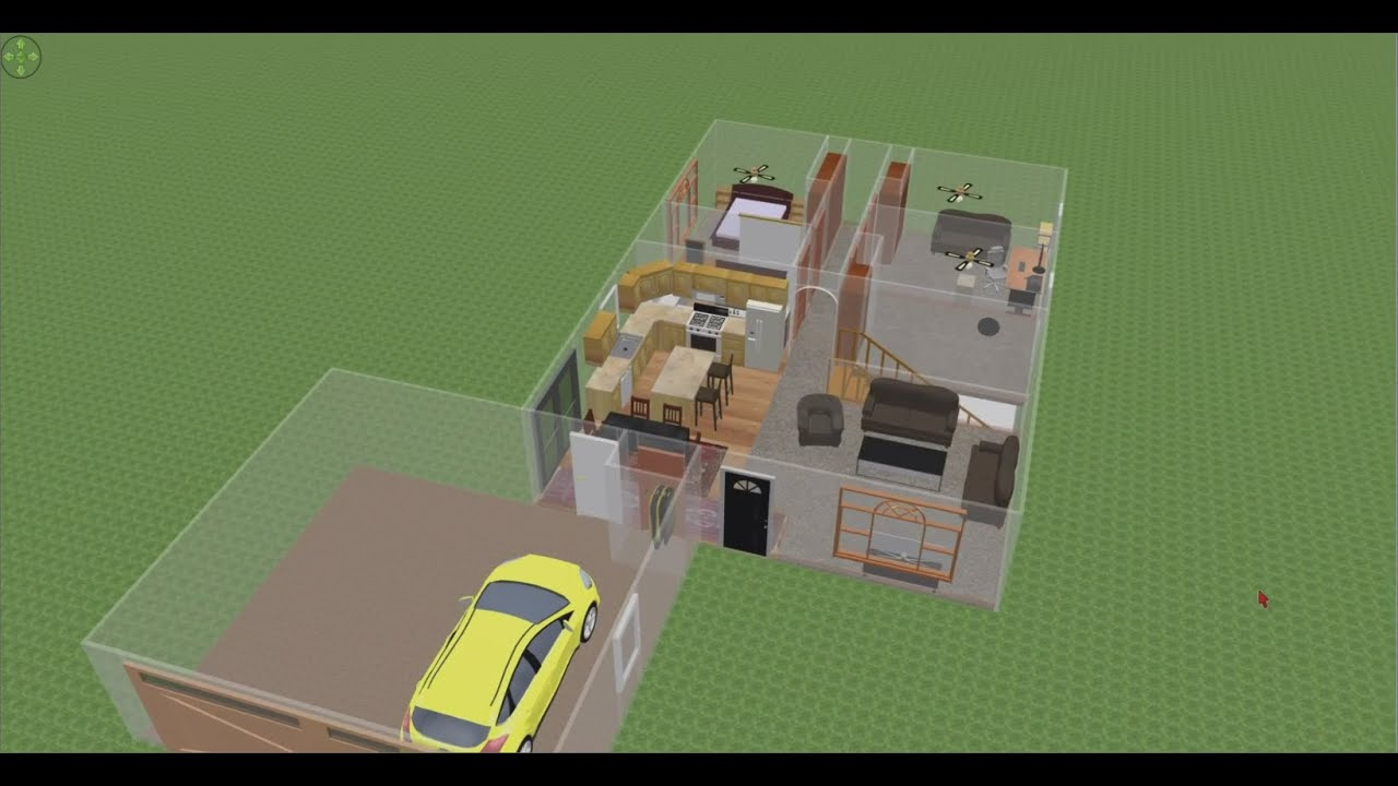 Sweet Home 3d   Quick Floor Plan