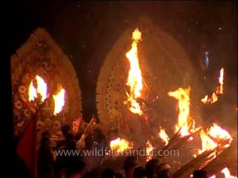 Padayani: Worship of Bhadrakali