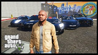 STEALING LUXURY POLICE CARS IN GTA 5! (GTA 5 Mods)