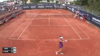 Georgina Garcia Perez (ESP) vs Lea Boskovic (CRO) ITF W25 Bad Saulgau, Germany.