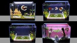Top 3 How To Make Planted Fish Tank At Home Ideas | DIY Nano Aquascape (No Co2)