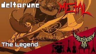 DELTARUNE - The Legend 【Intense Symphonic Metal Cover】