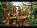 "carp made of wood/Создание кубка из дерева  для МКТ ""Карп Элит 2018"""